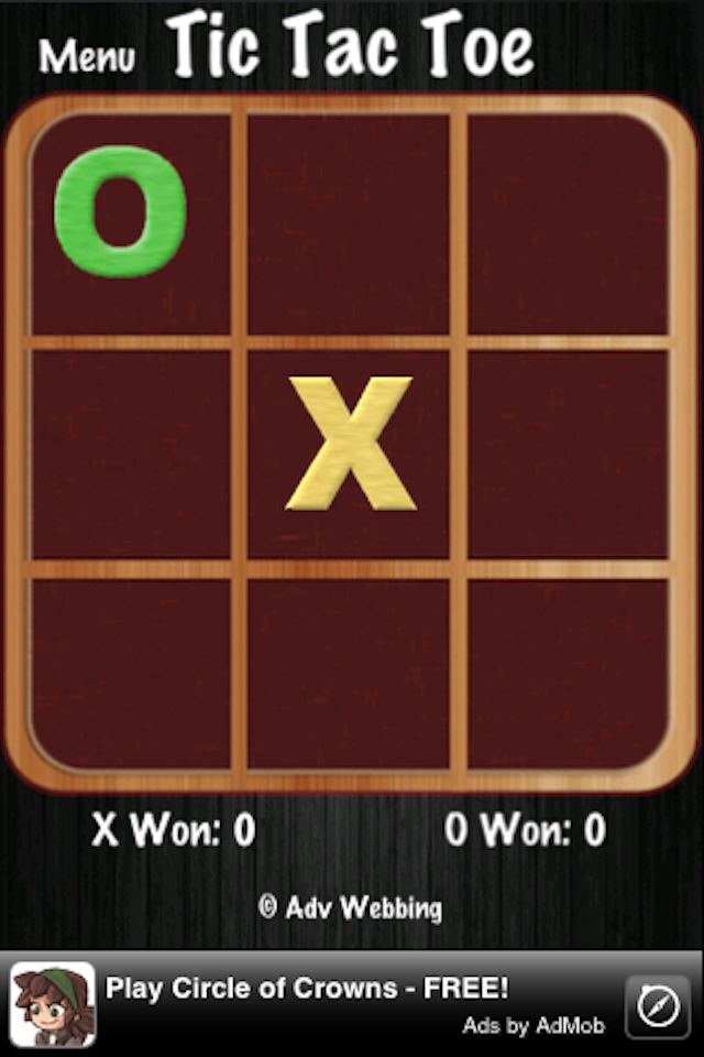 Screenshot Tic Tac Toe Revolution