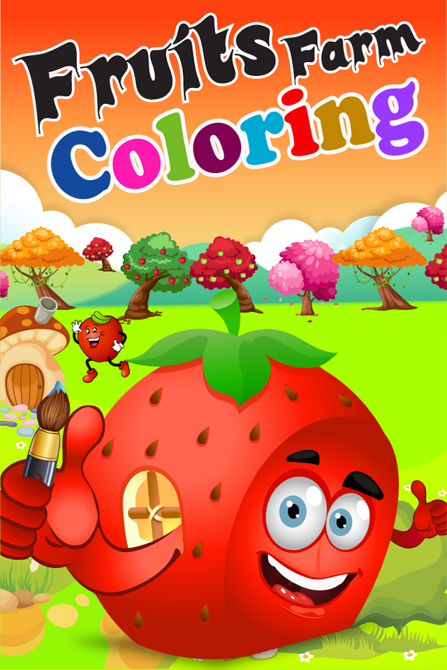 Screenshot Fruits Farm Coloring