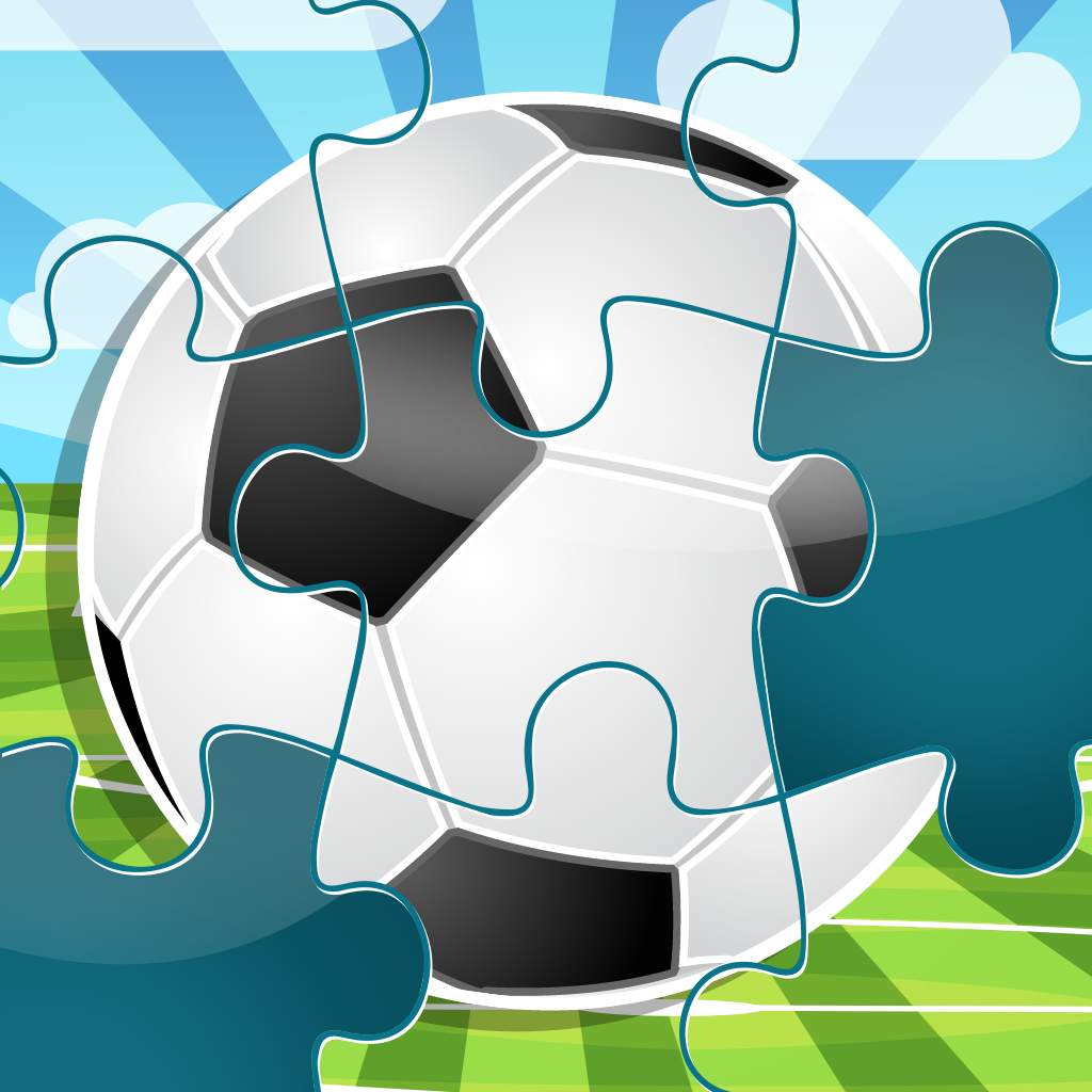 A Soccer Puzzle - Jigsaw puzzles for children and parents with the world of football